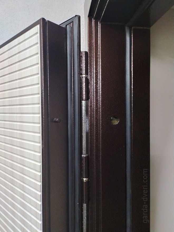 дверь Гарда Изотерма цвет антик-медь, противосьемы