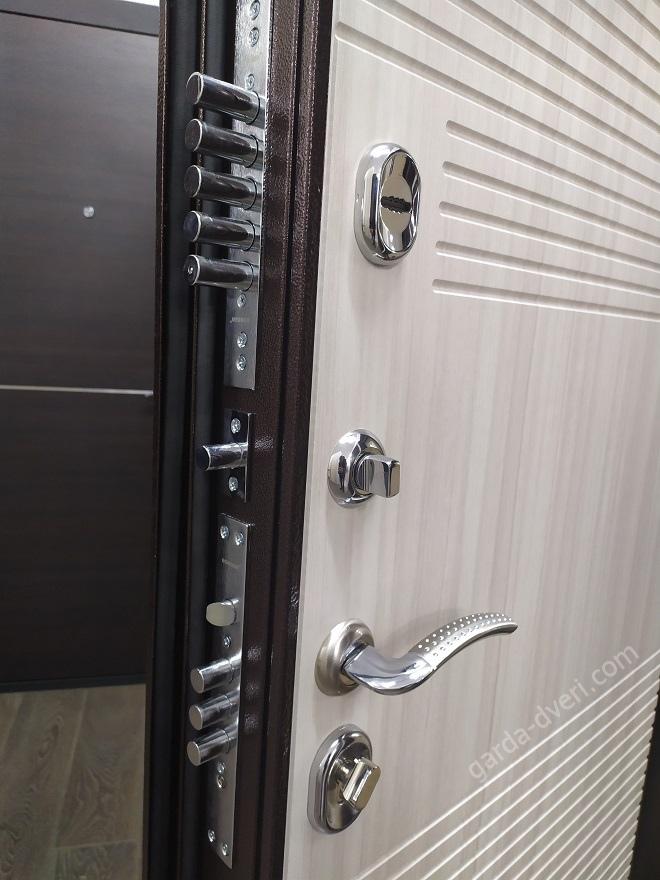 дверь Гарда Изотерма цвет антик-медь, замки