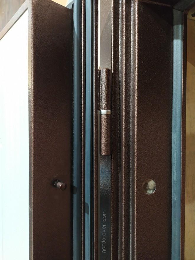 дверь Гарда S1 антик-медь Противосьемы