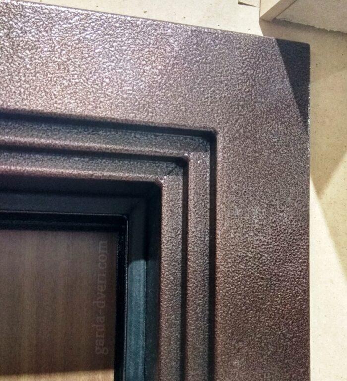 Двери Гарда S1 Короб в исполнении Антик-медь