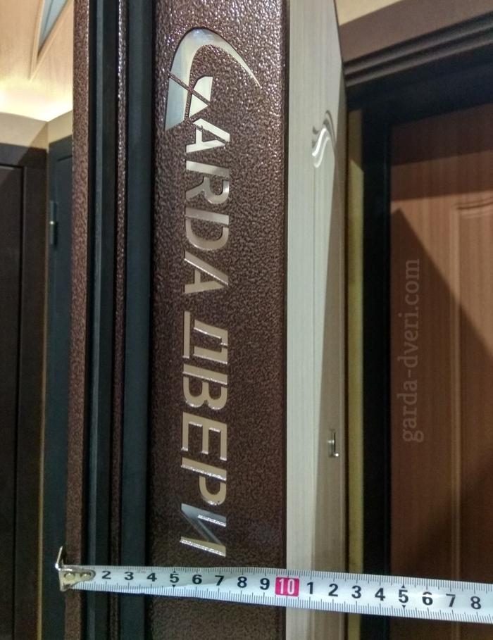 Двери Гарда S1 Толщина полотна Антик медь