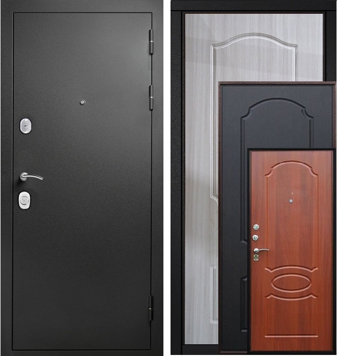 Двери Гарда S1 черный шелк аватарка