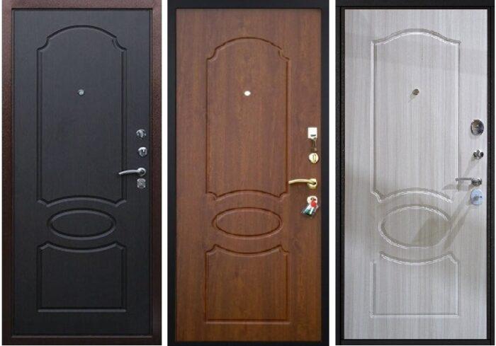 Двери Гарда S1 панели Венге, Орех, Белый клен