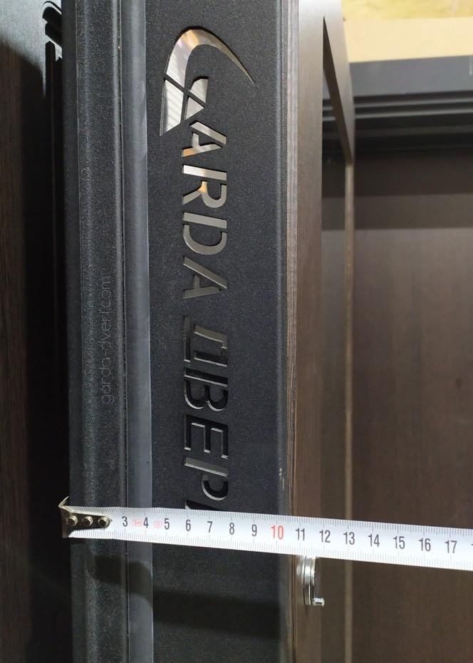 дверь Гарда S1 Зеркало толщина полотна