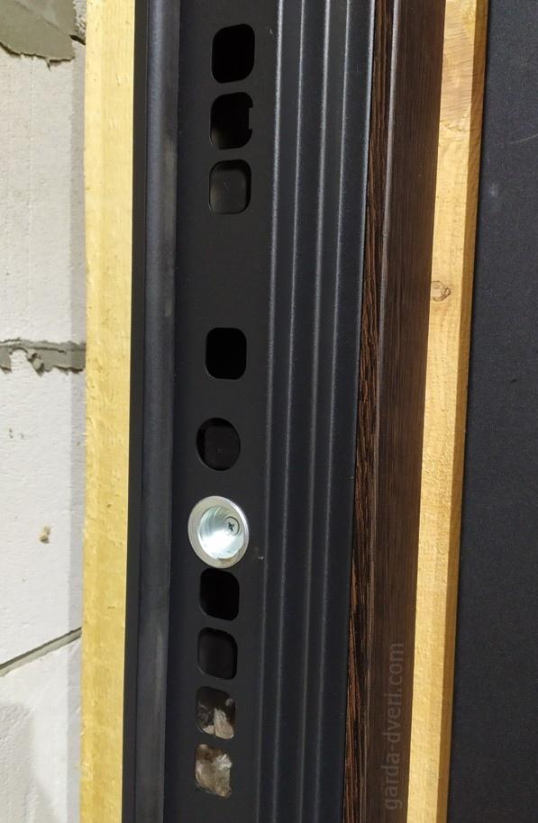 дверь Гарда S4/S5 эксцентрик и отверстия под ригели