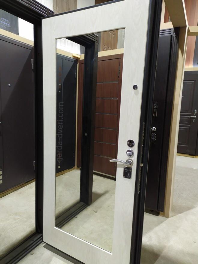 дверь Гарда S5 внутренняя панель Белый дуб