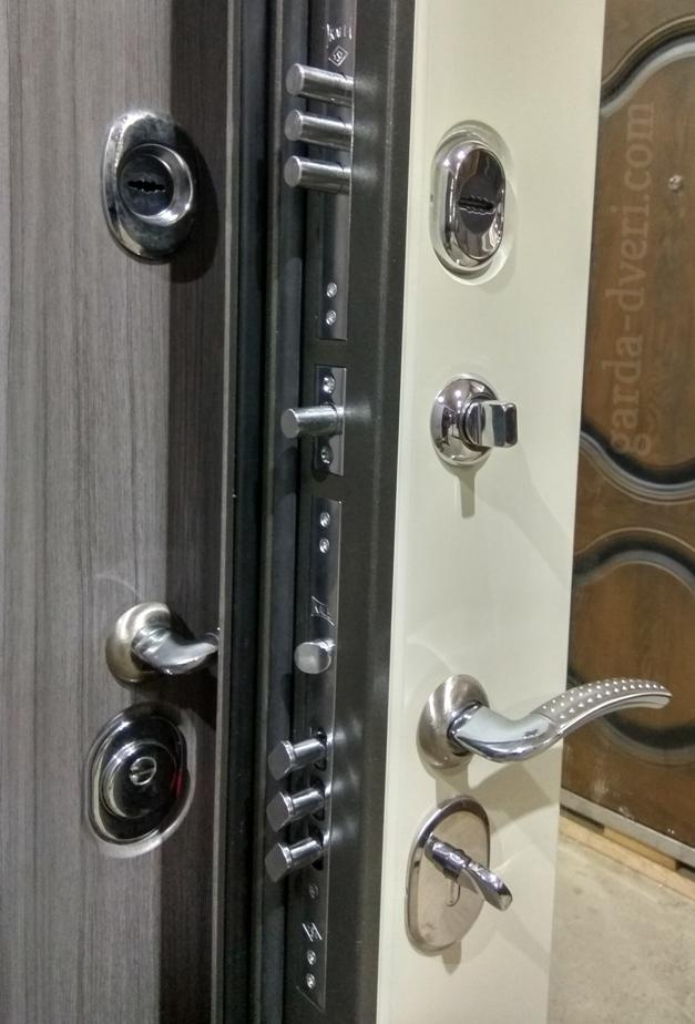 Двери Гарда S7 зеркало замки