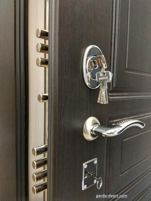 Дверь Гарда S4 замки