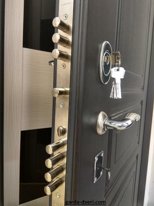 Дверь Гарда S5 замки