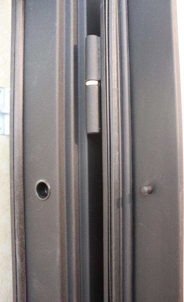 Гарда двери противосьемные штыри