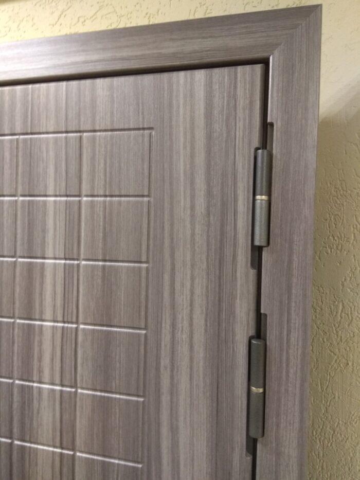 Дверь Гарда S7 зеркало петлевая часть