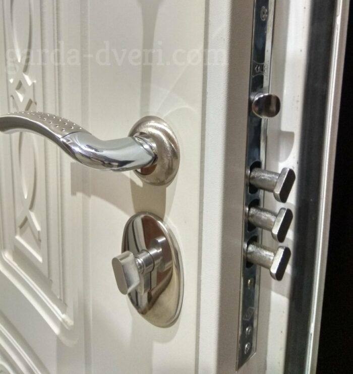 Двери Гарда S13 замковая часть изнутри