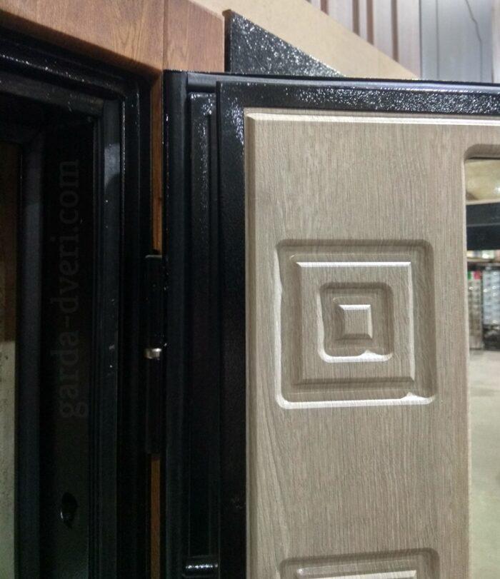 Двери Гарда S15 рисунок панели и противосьемные штыри