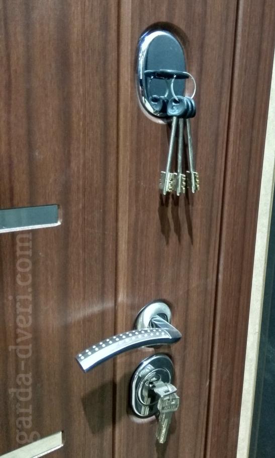 Двери Гарда S16 замки снаружи