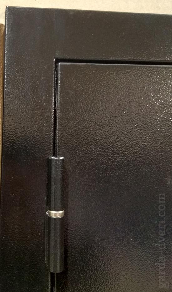 Двери Гарда S3 петли, цвет черный