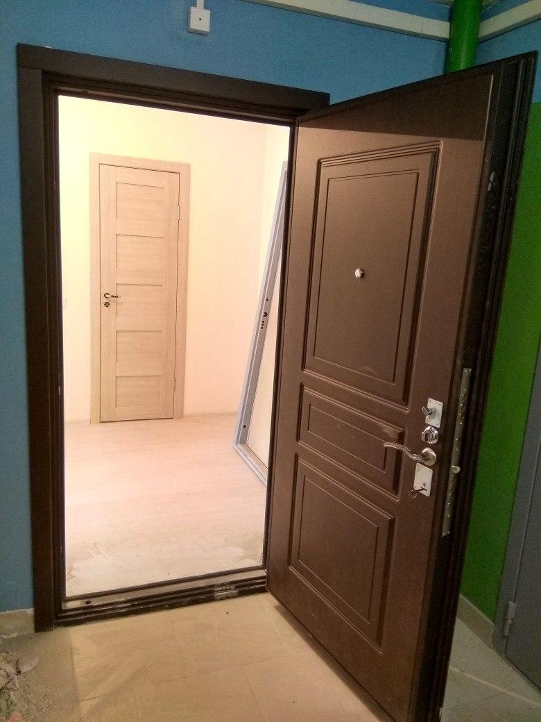Двери Гарда S4 венге