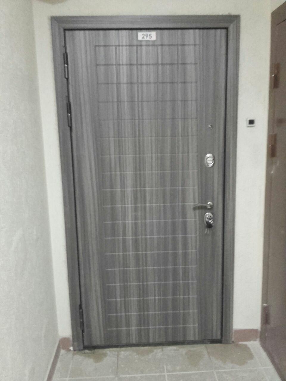 Двери Гарда S7 установка, внешний вид