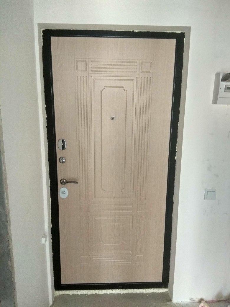 Двери Гарда S12 установка