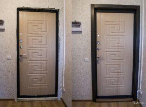 Двери Гарда отделка откосов