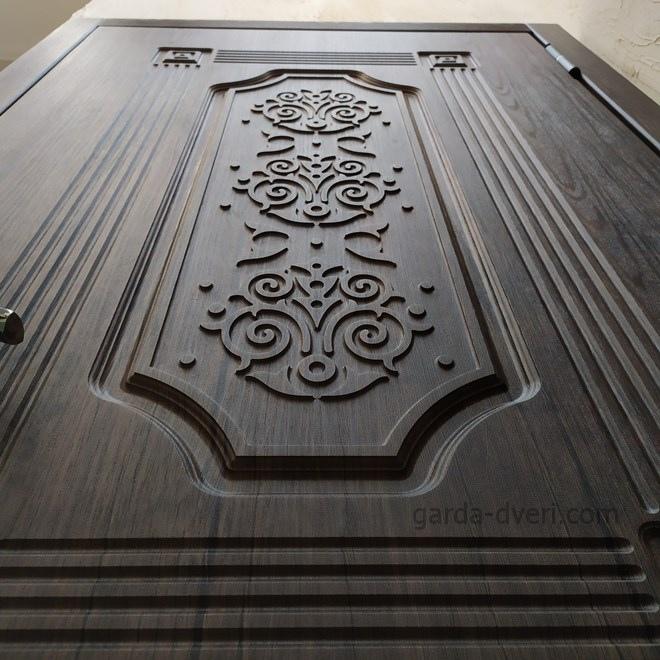 Гарда Двери S17 рисунок внешней панели