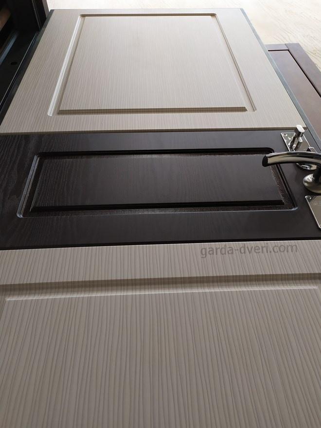 Двери Гарда S17 внутренняя панель МДФ
