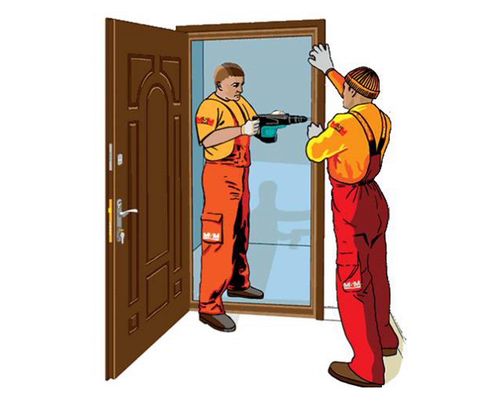 двери гарда установка